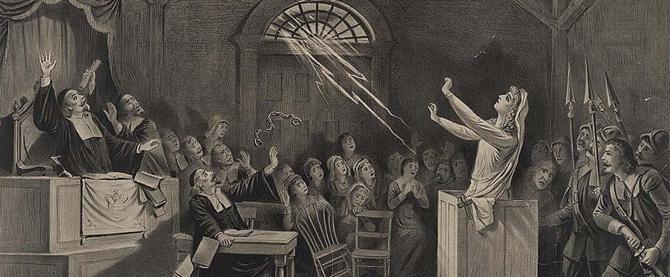 Frauen wurden noch in der Neuzeit als Hexen verfolgt. Bildnachweis: Library of Congress