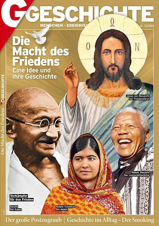 Cover Gandhi Jesus Mandela Yousafzai