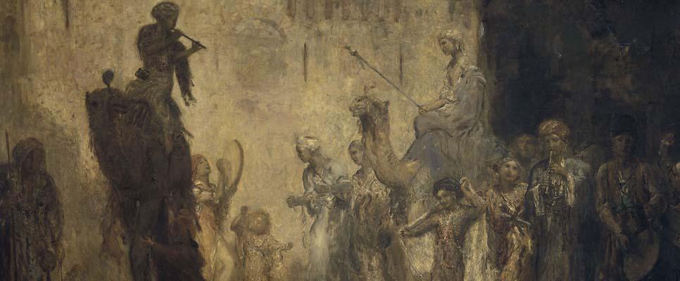 Marius Bauer, Orientalische Hochzeit (1911)