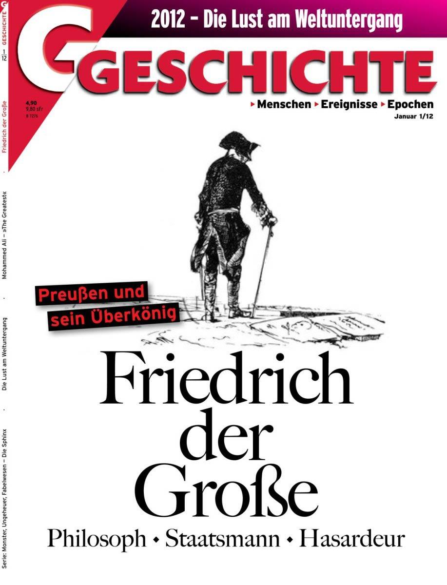Skizze Friedrich der Große