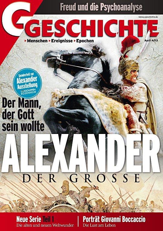 Cover Alexaner der Große