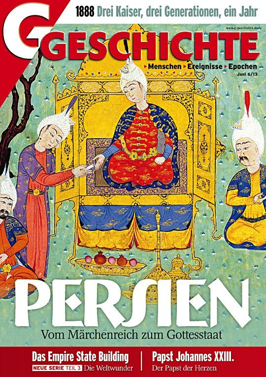 Cover Persische Miniatur