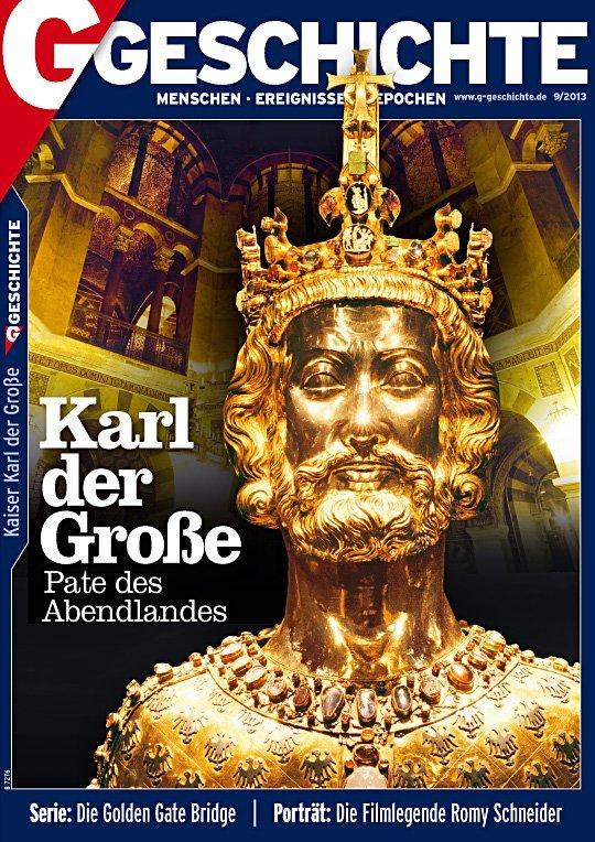 Aachen Büste Karl der Große