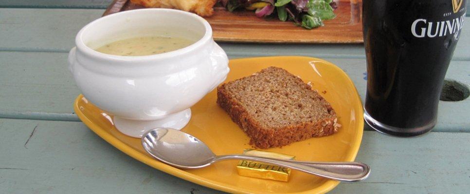 Landestypisches Essen in Irland