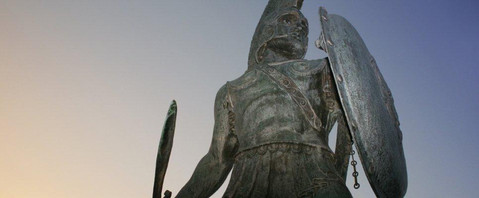 König Leonidas, Sparta