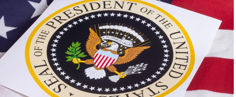 Siegel des Präsidenten der USA