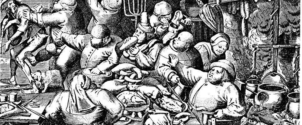 Blei vergiftete Stadtmenschen im Mittelalter