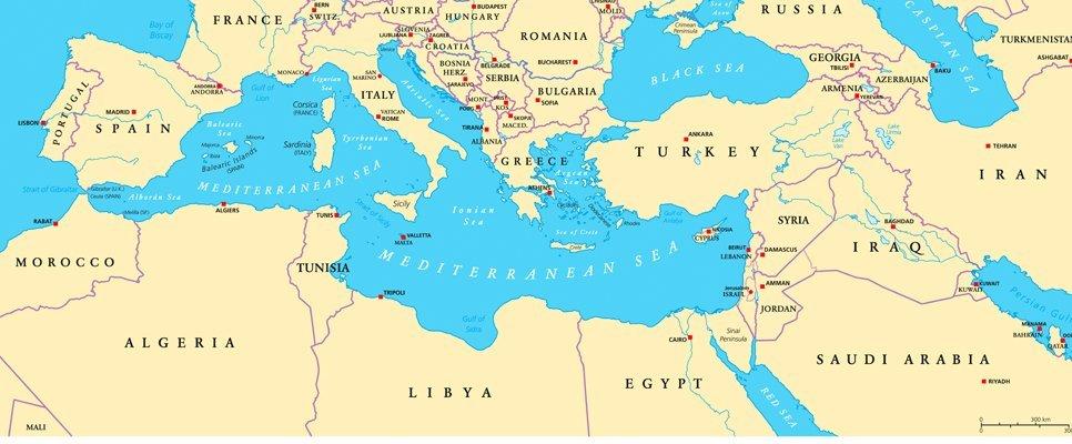 Mittelmeer Nationalsozialismus