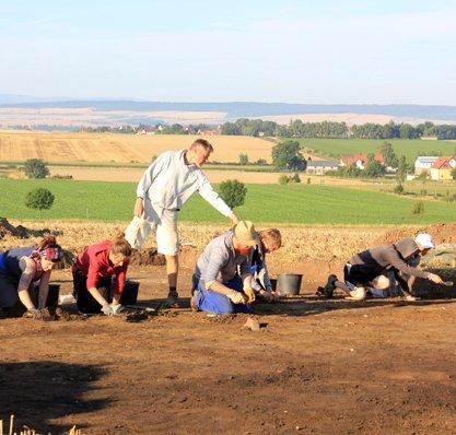 Eine Art Stonehenge in Niedersachsen