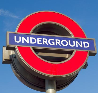 Römer im Londoner Untergrund