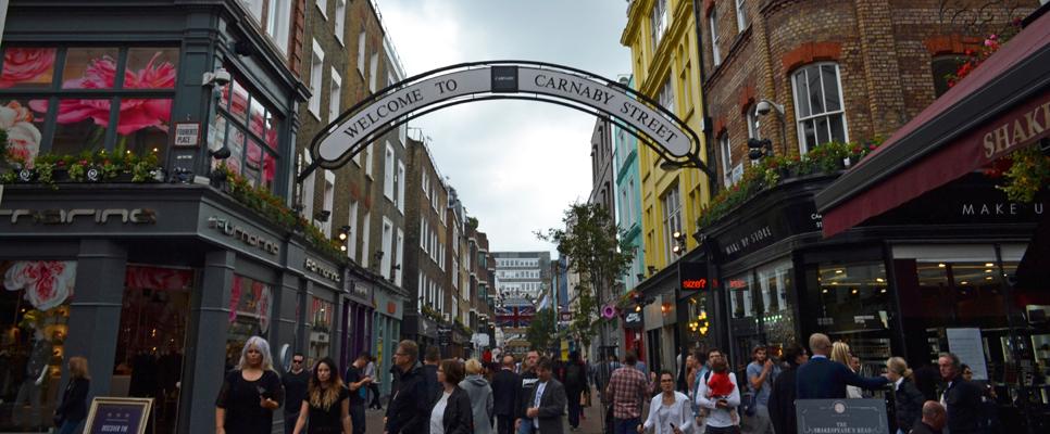 Carnaby Street London, 2014
