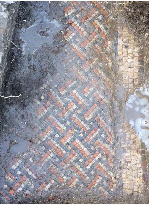 Römischer Mosaikboden Wiltshire