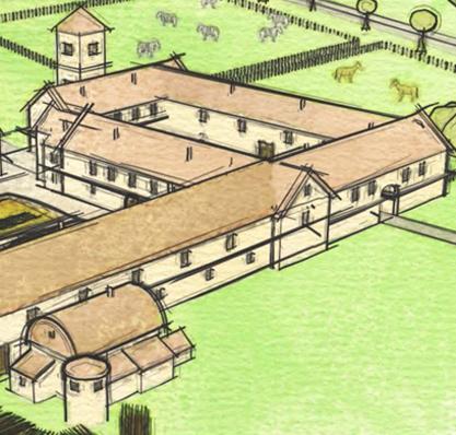 Römische Villa in England entdeckt