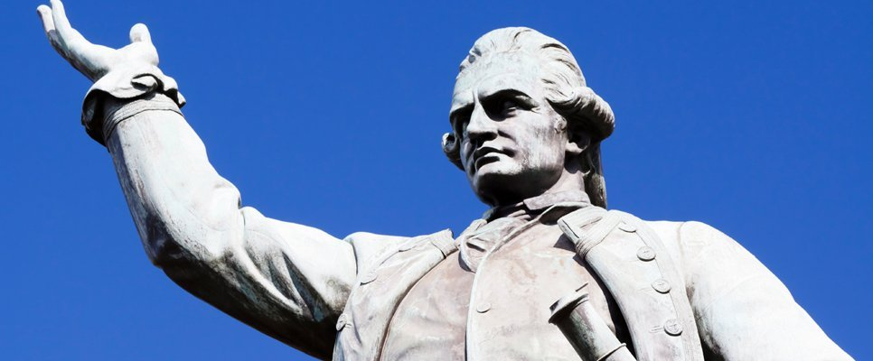 James Cook Statue