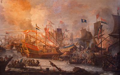 Die Schlacht bei Lepanto