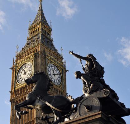 Londons Aufstieg zur Hauptstadt