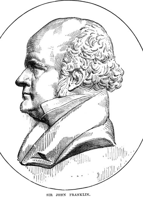 Sir John Franklin leitete die Expedition, die 1845 auf der Suche nach der Nordwestpassage in die Arktis aufbrach. | © Istockphoto.com/Duncan1890