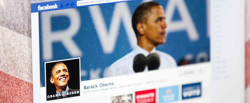 Obamas Facebook page