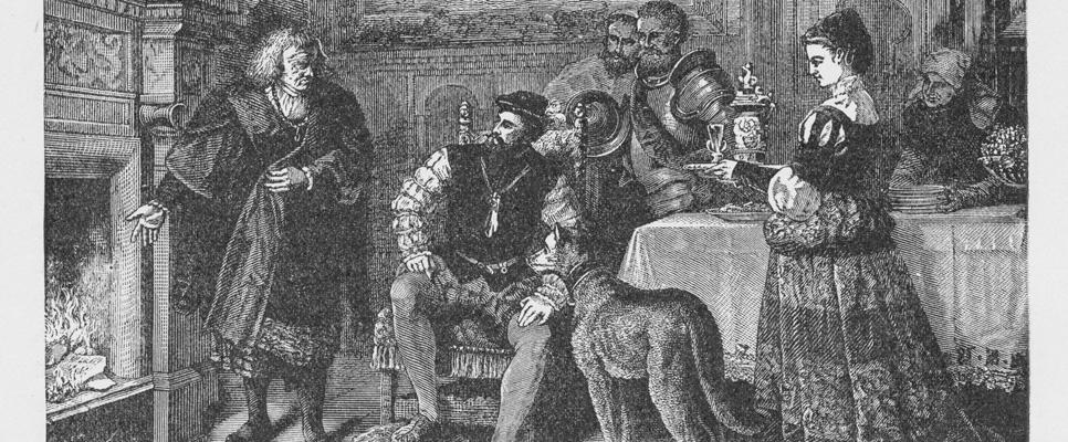Karl V. bei den Fuggern