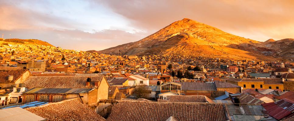 Cerro Rico und Potosi, Bolivien