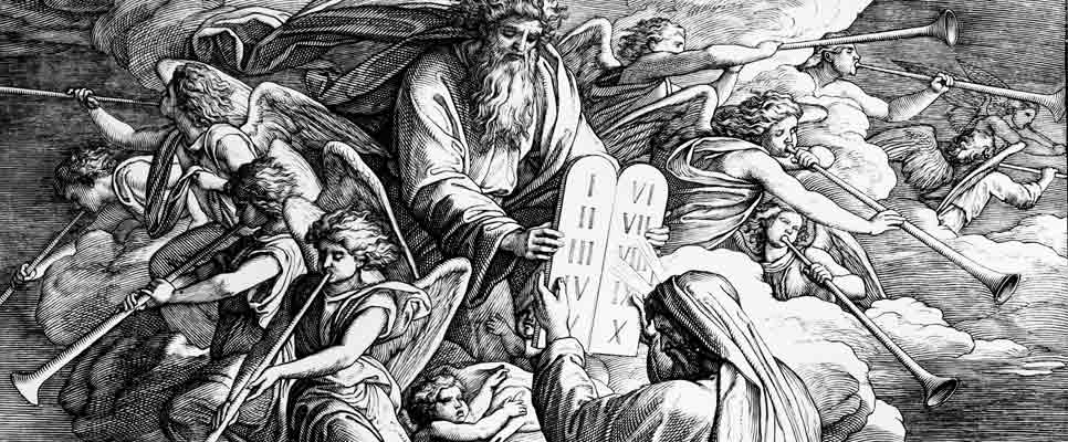 Moses Zehn Gebote
