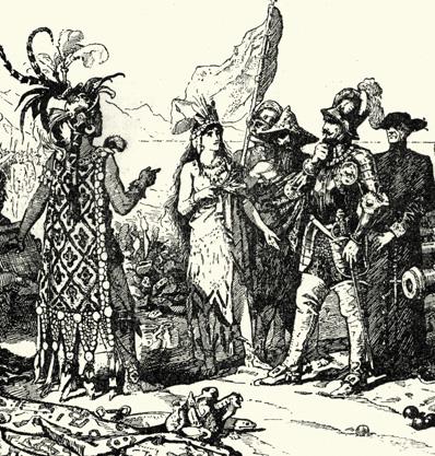 Wie Spanien den Tod nach Mexiko brachte