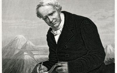 Alexander von Humboldt vermisst die Welt