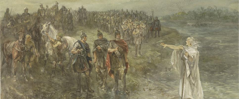 Drusus und germanisches Seher