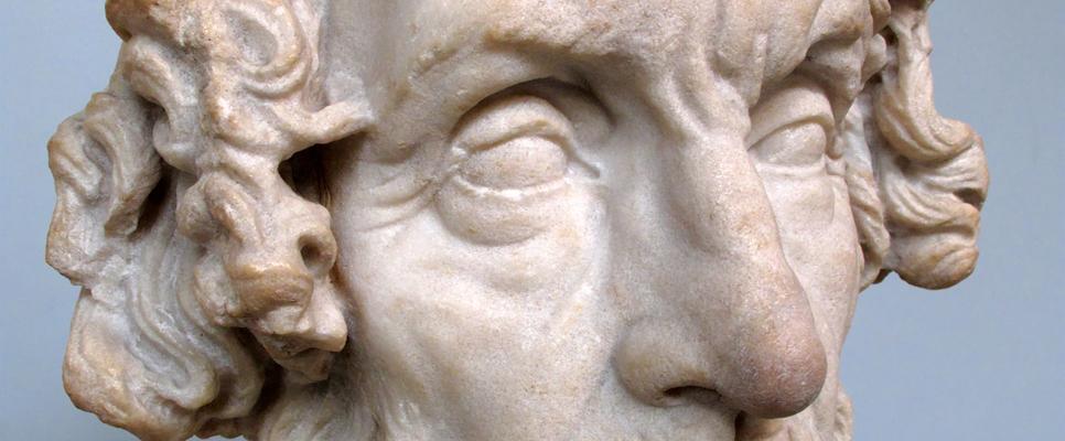 römische Homer-Büste