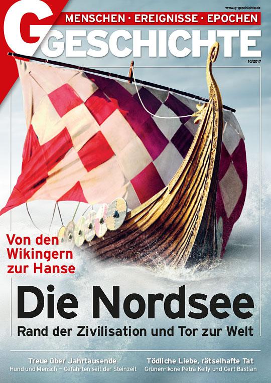 Cover: Wikingerschiff auf dem Meer