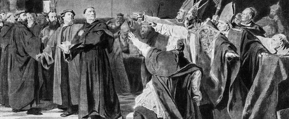 Luther verteidigt seine Thesen