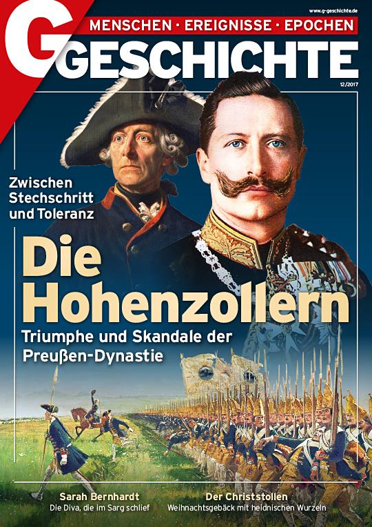 Cover: Hohenzollern mit Friedrich II. und Wilhelm II.