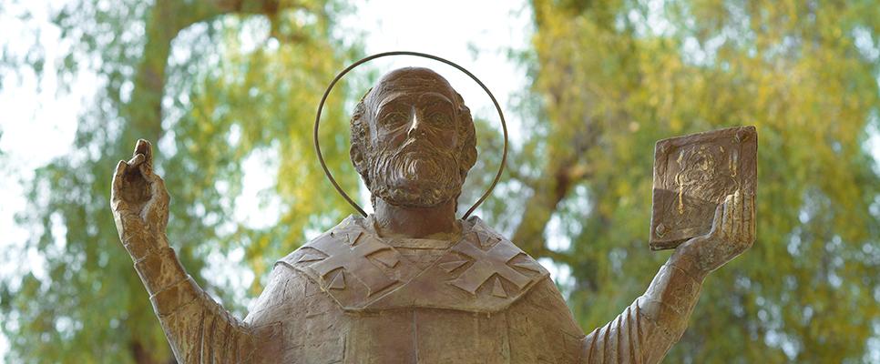 Statue des Heiligen Nikolaus