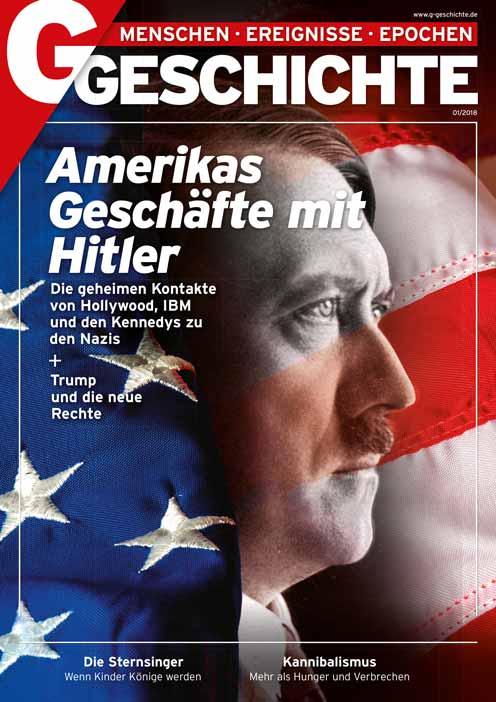 Cover: Hitler vor der US-Flagge