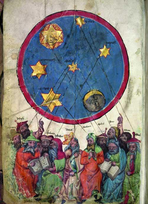 Losbuch aus dem 14. Jahrhundert. Zu sehen in Berlin