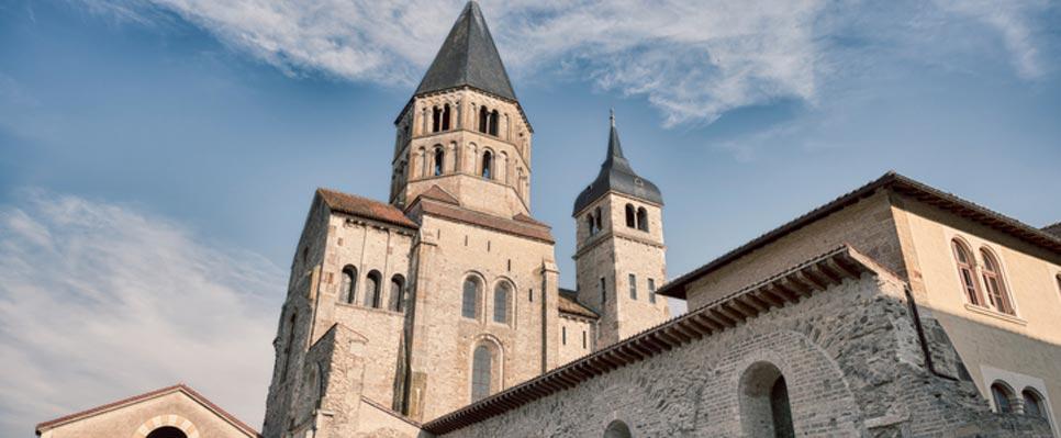 Die Kirche der Abtei von Cluny