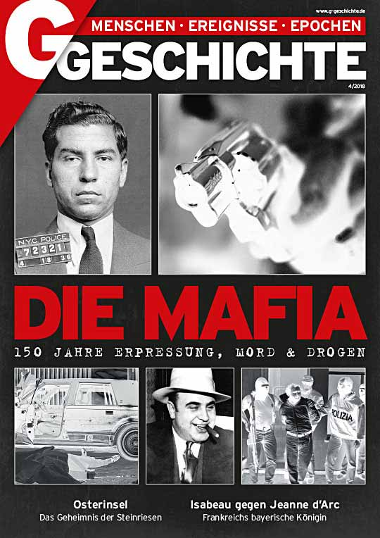 Cover Mafia mit dem Mafiaboss Lucky Luciano