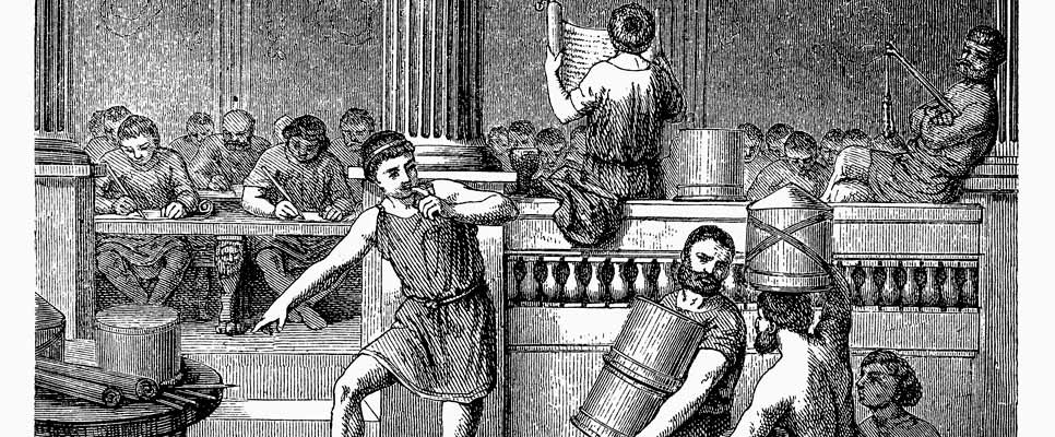 Medizinschule im Alten Rom