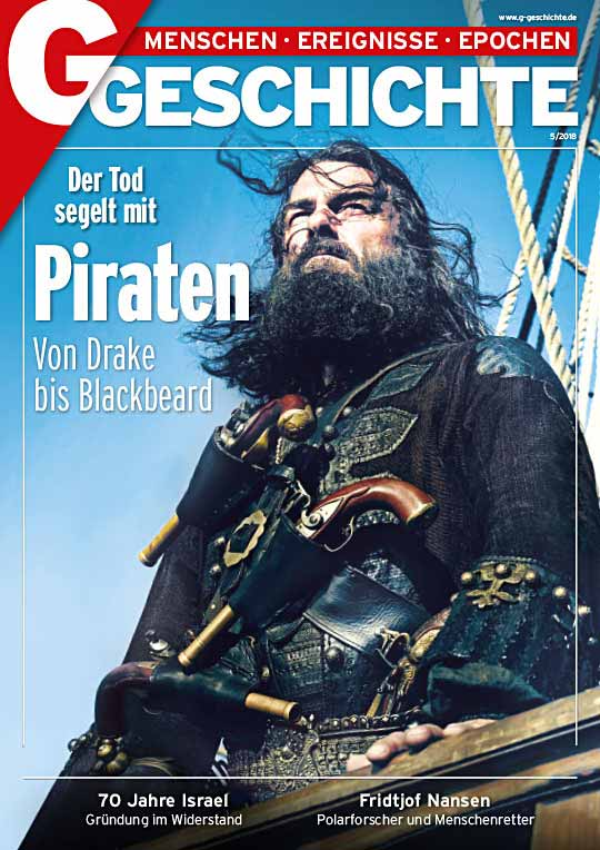 Cover Piraten mit Blackbeard