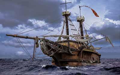 Der Alltag der Piraten
