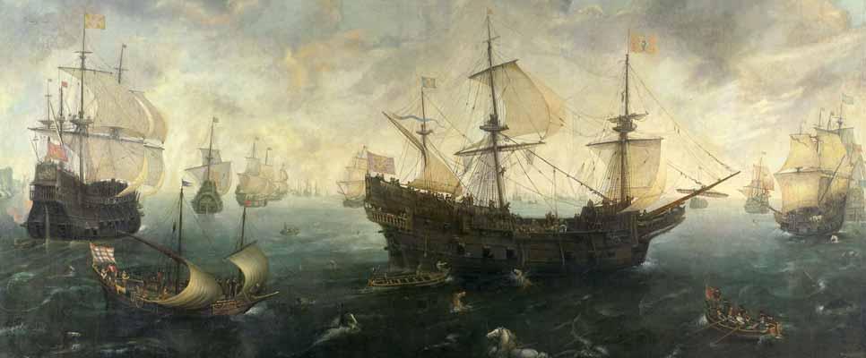 Die spanische Armada 1588