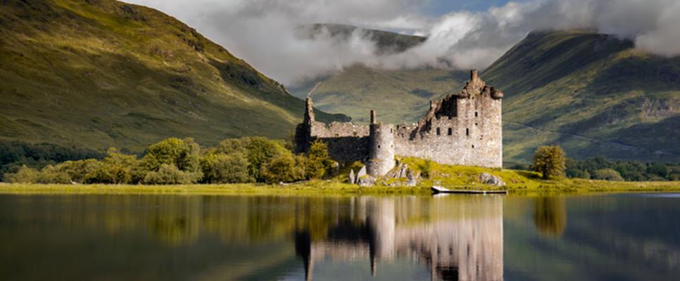 Kilchurn Castle in Schottland