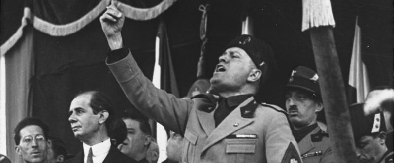 Mussolini in Mailand