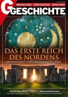 Himmelsscheibe von Nebra und Steinkreis von Stonehenge