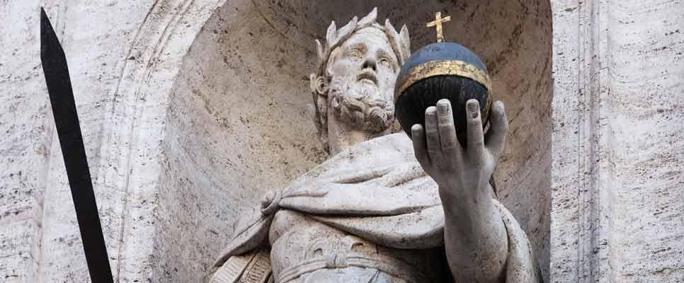 Statue Karl der Große