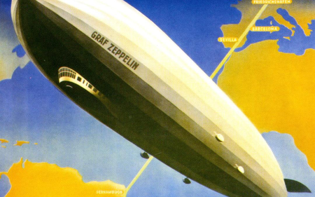 Zeppelin unterwegs