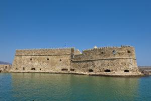 Die venezianische Festung auf Kreta, Griechenland