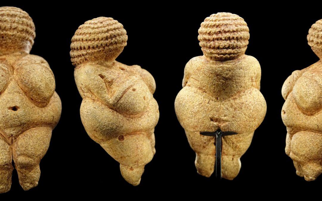 Venusfiguren: Die ersten Plus-Size- Models
