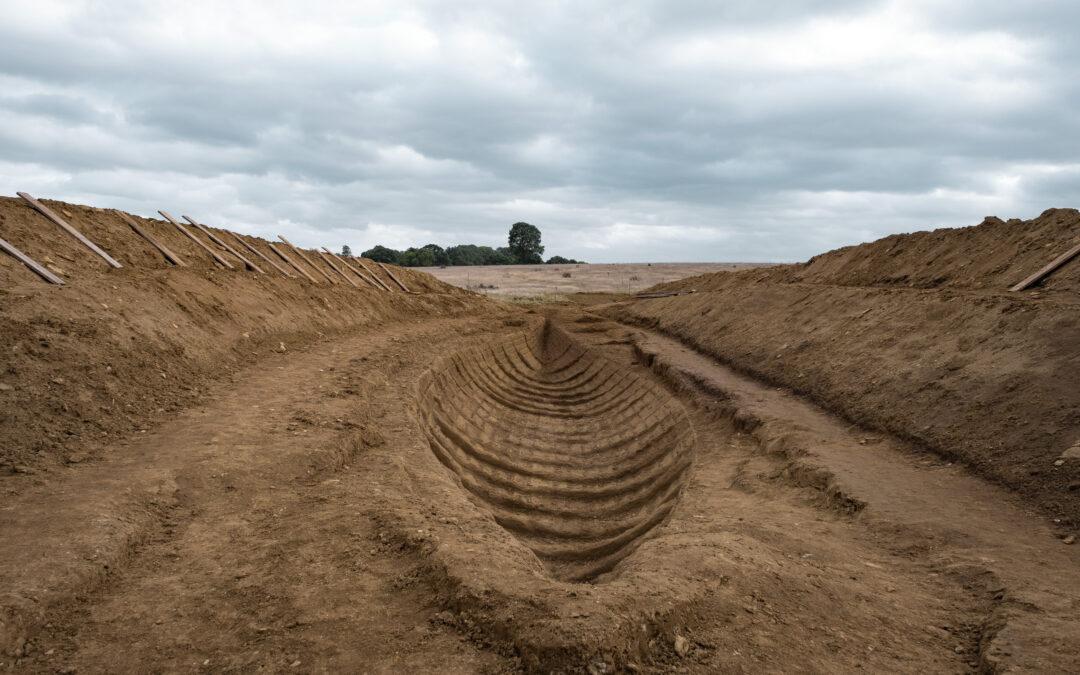"""Film """"Die Ausgrabung"""": Schiff unter dem Hügel"""